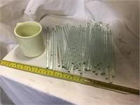 36 Stirrers And Coffee Mugs