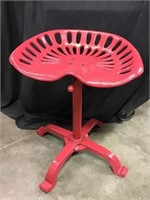Tractor Seat Stool, Adjustable Height