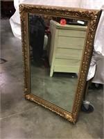 Mirror, 24 1/2 X 37