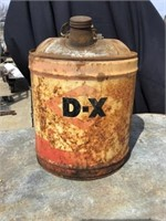 Dx Products 5 Gallon Can, Rust