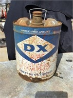 Dx Products 5 Gallon Can, Rusted