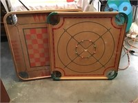 Two Carrom Game Boards