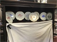 Eight Collector Plates From Rochester And Fulton