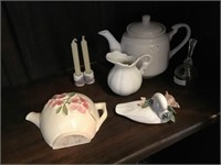 Teapot, Bell, Small Picture, Wall Pocket Pocket