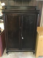 Wooden Cabinet 39 X 62 X 12 1/2