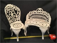 Small Cast Iron Garden Furniture