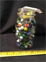 Marbles In A Mason Jar