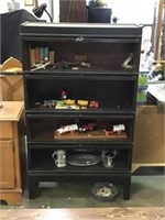 Four Shelf Barrister Bookcase, No Contents