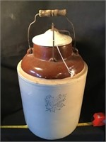 Western Stoneware Crock, 21 Inches Tall