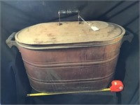Copper Boiler With Steel Lid