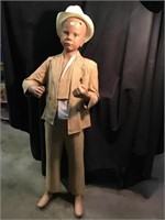 Child mannequin 50 inches with damage to head