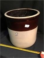2 gallon crock