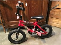 Huffy rocket child's bicycle with bell
