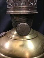 Brass lantern lamp base