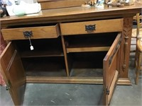 Waring Buffet with mirror, 63 x 25 x 62