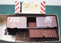SCL 11853 40ft PS-1 Box Car McKean HO Kit
