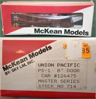 UP 126475 PS-1 Box Car McKean HO Kit
