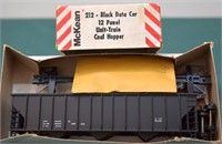 Black w/Data 12 Panel Hopper McKean HO Kit