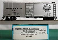 Great Northern 2527 40 Box Car English Models HO