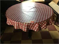 """48"""" Round Unfinished Top Dining Table"""