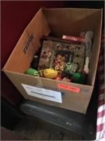 Box of Clothing, Toys, Etc.