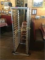 Full Size Mobile Baker's Rack - 21 x 26 x 69