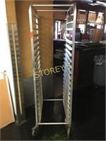 Full Size Mobile Baker's Rack - 20 x 26 x 70