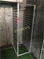 Full Size Mobile Baker's Rack - 21 x 26 x 68
