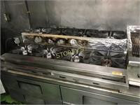 """48"""" Imperial 8 Burner Step Up Gas Cooker"""