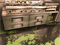 True 4 Drawer Chef Base - Does Not Cool