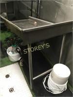 Left S/S Dishwasher Return