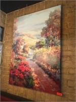 """Canvas Floral Picture 36"""" x 48"""""""