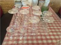 Wine Glasses, Martini Glasses, Etc