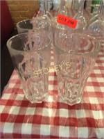 4 Heavy Duty Water Glasses