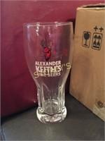 5 New Alexander Keith's Beer Glasses