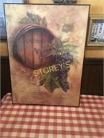 Wine Picture - 17 x 23