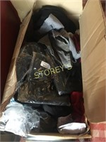 Box of Assorted Uniforms