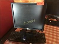 Dell Monitor w/ Keyboard