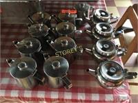 Stainless Steel Tea Servers
