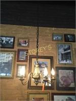 5 Bulb Hanging Chandelier - 6ft