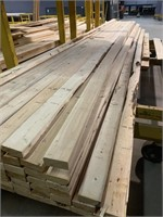 Large Lift of  Apr 16Ft Spruce 2x4 Lumber