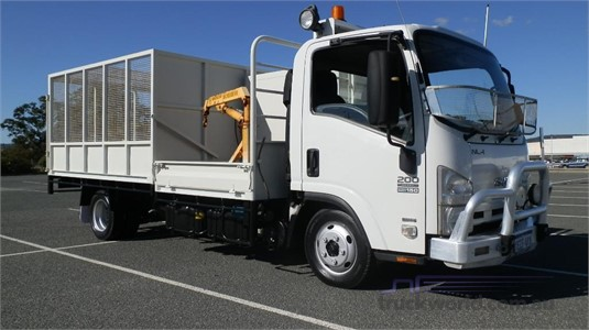 2012 Isuzu NLR 200 AMT Truck Traders WA  - Trucks for Sale