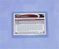 2012 Topps Ian Kennedy Card