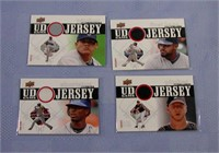 2010 Upper Deck UD Game Cards set of 4