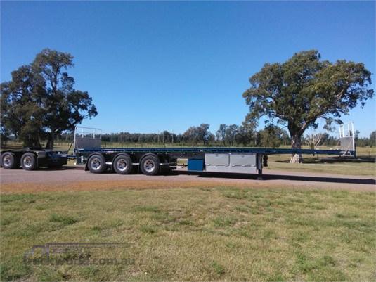 2018 Maxitrans 45FT Flat Top Semi Trailer - Trailers for Sale