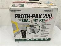 Froth Pak Sealant kit Open Box