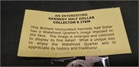 2000 Collectors Kennedy half dollar