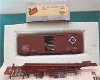 Erie 92047 40ft Box Car Front Range HO Kit.