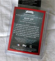 2010 Topps Cliff Lee PPR-CL