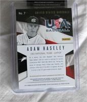 2013 Panini Adam Haseley #7